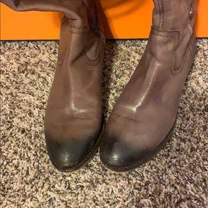 Arturo Chiang Shoes - Arturo Chiang Whiskey riding boots